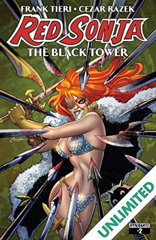 Red Sonja: The Black Tower #2 (of 4): Digital Exclusive Edition